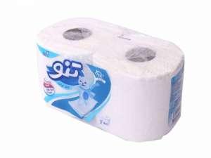 دستمال کاغذی 2 رول 3 لایه تنو