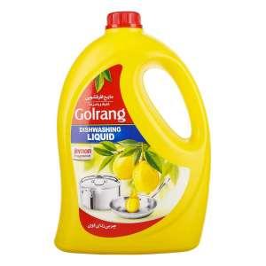 مایع ظرفشویی گلرنگ 4 لیتری